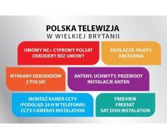 ANTENY DEKODERY Canal+ POLSAT SPRZEDAŻ MONTAŻ SERWIS