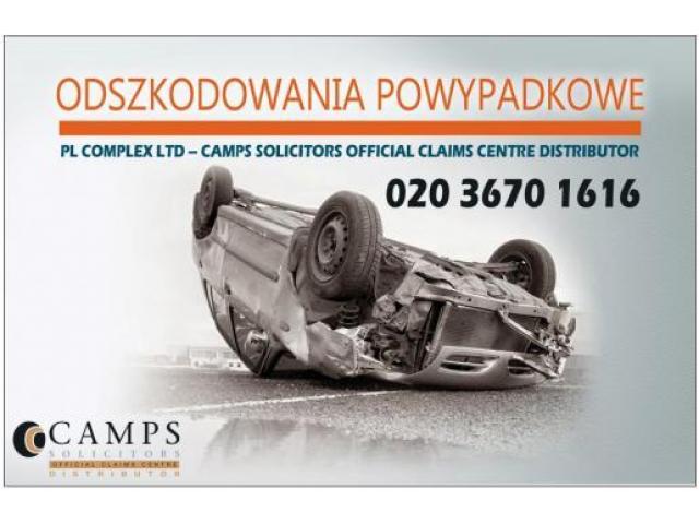 Odszkodowanie za wypadek samochodowyPeterborough| wypadek przy pracy w UK - 1/1