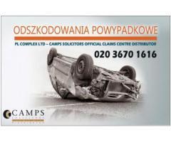Odszkodowanie za wypadek samochodowyPeterborough| wypadek przy pracy w UK