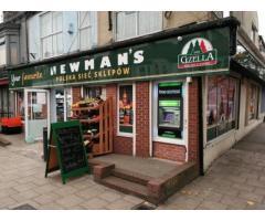 Lokal Handlowy wraz ze Spółka LTD w UK w centrum miasta