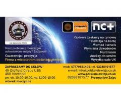Polska Telewizja Satelitrana NC+ Polsat Montaż anten