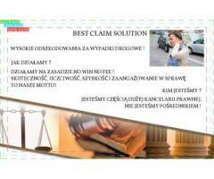 BEST CLAIM SOLUTION!! WYSOKIE ODSZKODOWANIA ZA WYPADKI DROGOWE!!