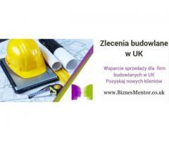 Pozyskiwanie zleceń dla firm Budowlanych i Sprzątających
