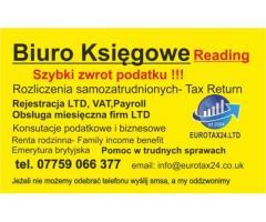 Ksiegowa Reading,Biuro Ksiegowe Reading