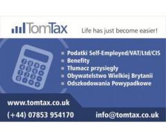 PODATKI / BENEFITY / ROZLICZENIA / REZYDENTURA / OBYWATELSTWO UK - Grafika 1/2