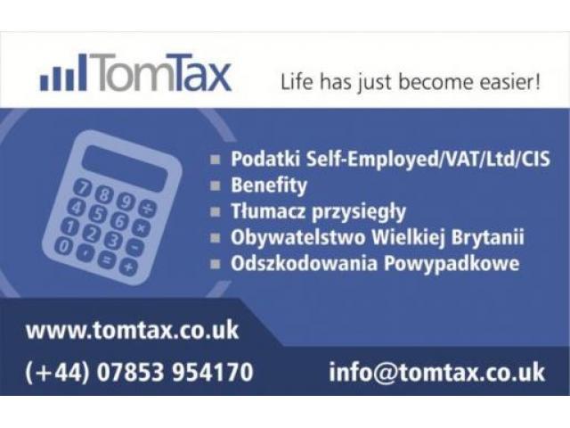 PODATKI / BENEFITY / ROZLICZENIA / REZYDENTURA / OBYWATELSTWO UK - 1/2