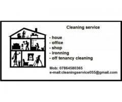 Usługi sprzątające.