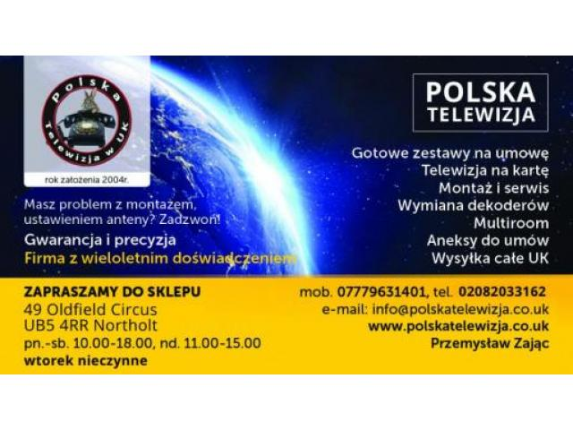 SALON SPRZEDAŻY NC  ,POLSAT,MONTAŻ ANTEN,AKCESORIA - 1/1