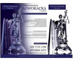 Polska kancelaria adwokacka w UK | Polski adwokatLondyn UK | prawnikLondyn UK