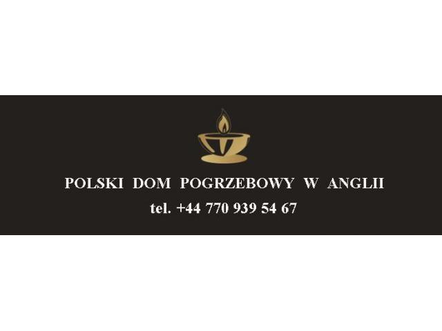ZAKŁAD POGRZEBOWY - TRANSPORT ZWŁOK Z ANGLII DO POLSKI - 1/1