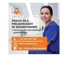 Pielęgniarka/-niarz w Skandynawii