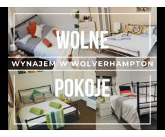 Wygodne i przytulne pokoje w Wolverhampton