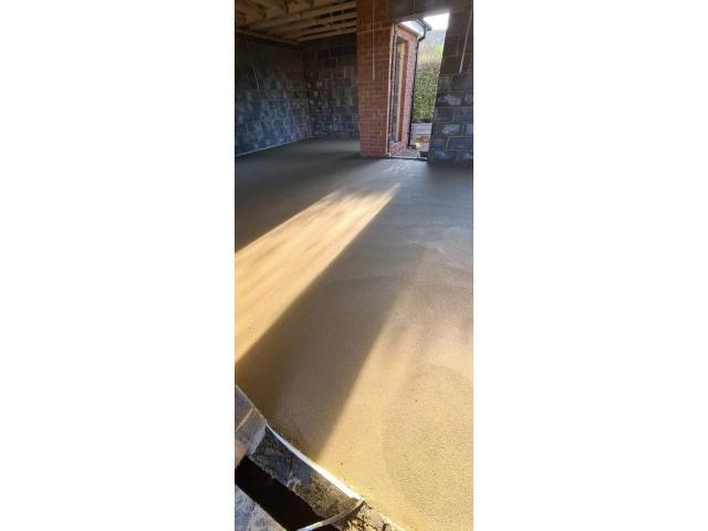 Wylewka podłogowa Floor screeding - 6/9