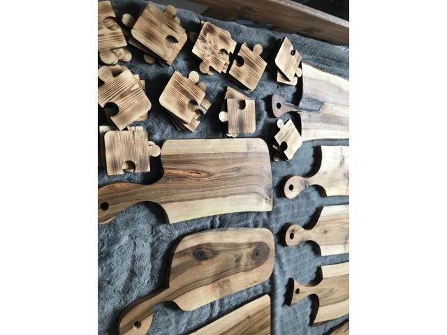 Drewniane solidne deski do krojenia oraz podstawki - 2/10
