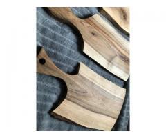 Drewniane solidne deski do krojenia oraz podstawki - Grafika 3/10