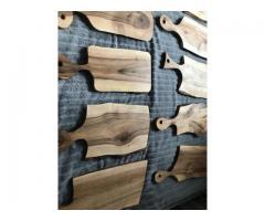 Drewniane solidne deski do krojenia oraz podstawki - Grafika 4/10