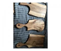 Drewniane solidne deski do krojenia oraz podstawki - Grafika 6/10