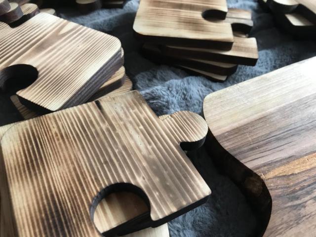 Drewniane solidne deski do krojenia oraz podstawki - 10/10