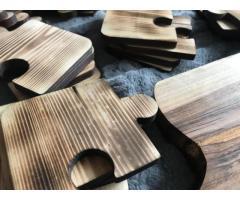 Drewniane solidne deski do krojenia oraz podstawki - Grafika 10/10