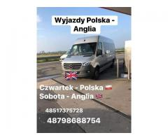 Międzynarodowy przewóz osób PL-UK-PL
