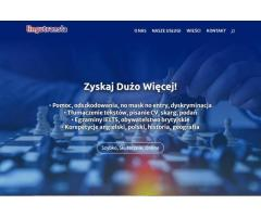 Pomoc, tłumaczenie tekstów, pisanie CV, korepetycje angielski-polski