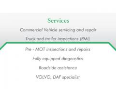 Mobilny mechanik HGV & PSV - licencja IRTEC