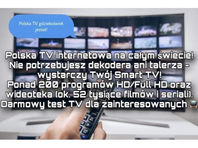 Polska TV bez anteny czy dekodera! DARMOWY TEST - 1/1