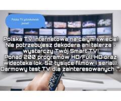 Polska TV bez anteny czy dekodera! DARMOWY TEST