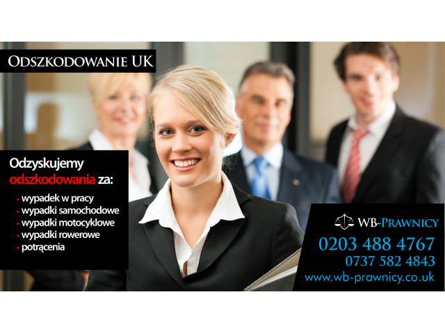 WB-Prawnicy, Odszkodowania UK - 1/1