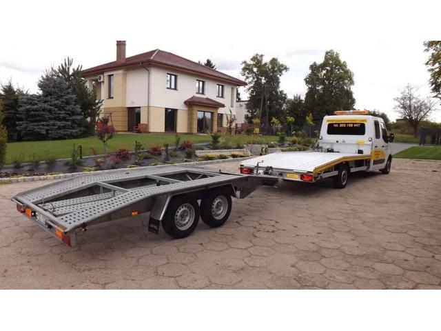 Laweta do Polski/Transport auta na Lawecie/Busy do Polski - 1/8