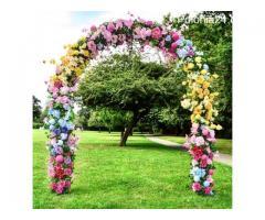 Ściany kwiatowe na eventy