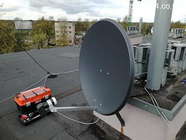 Montaz anten Londyn, polska telewizja Londyn, polska tv Londyn, anteny satelitarne Londyn, tv bez an - 1/1