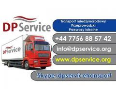 Międzynarodowe Przeprowadzki i Transport Towarowy PL, UK, UE