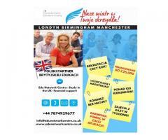 Studia w Anglii- dofinansowania, darmowa pomoc, aplikacja.