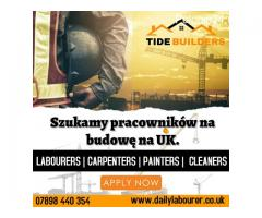 Praca na budowie UK