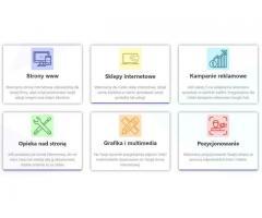 STRONY INTERNETOWE - TWORZENIE STRON INTERNETOWYCH, PROJEKTOWANIE STRON WWW