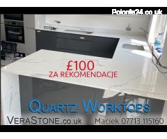 VeraStone - Quartz - Granite - Porcelain blaty kuchenne z kamienia - Grafika 1/6