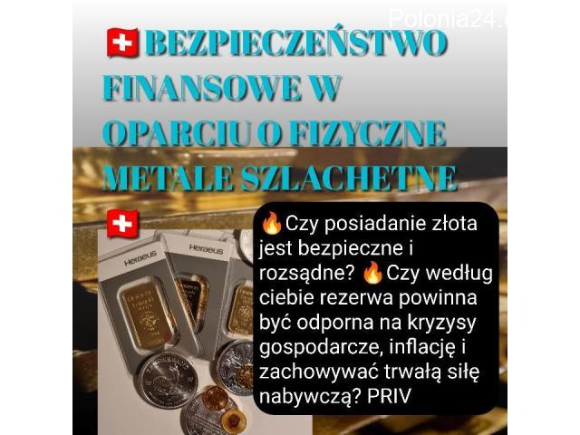 Bezpieczeństwo Finansowe w Oparciu o Fizyczne Metale Szlachetne - 1/1
