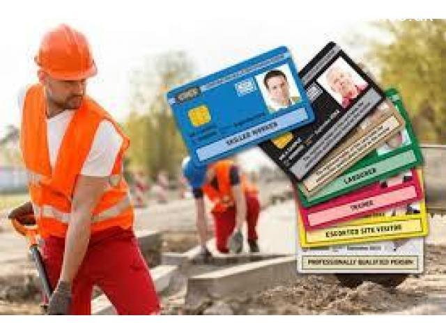 CSCS - NVQ - CPCS - Plumber Gold Card - 1/1