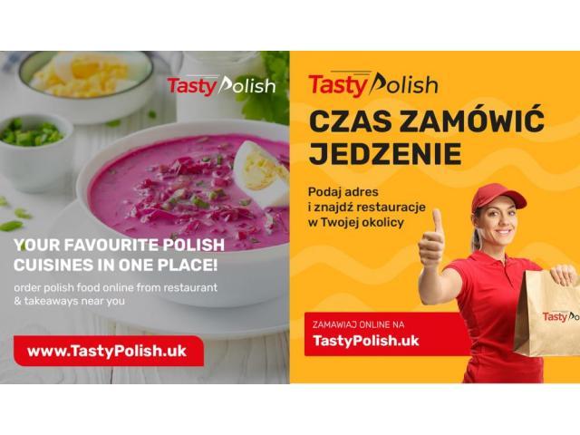 www.TastyPolish.uk  - Zamów jedzenie online: szybko i wygodnie! - 1/1