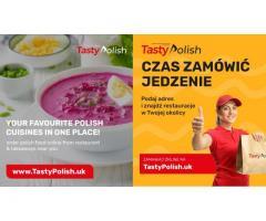 www.TastyPolish.uk  - Zamów jedzenie online: szybko i wygodnie!