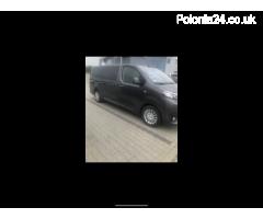 Toyota 9 osobowa transport osób/ przewóz  !