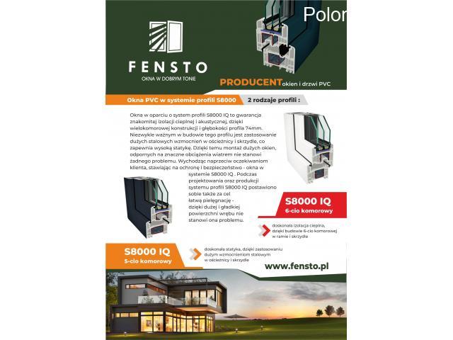 OKNA Z POLSKI Fabryka Okien PCV FENSTO + własny transport - 2/3